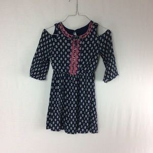 Girls Amy Byer Cold Shoulder Dress Size 7